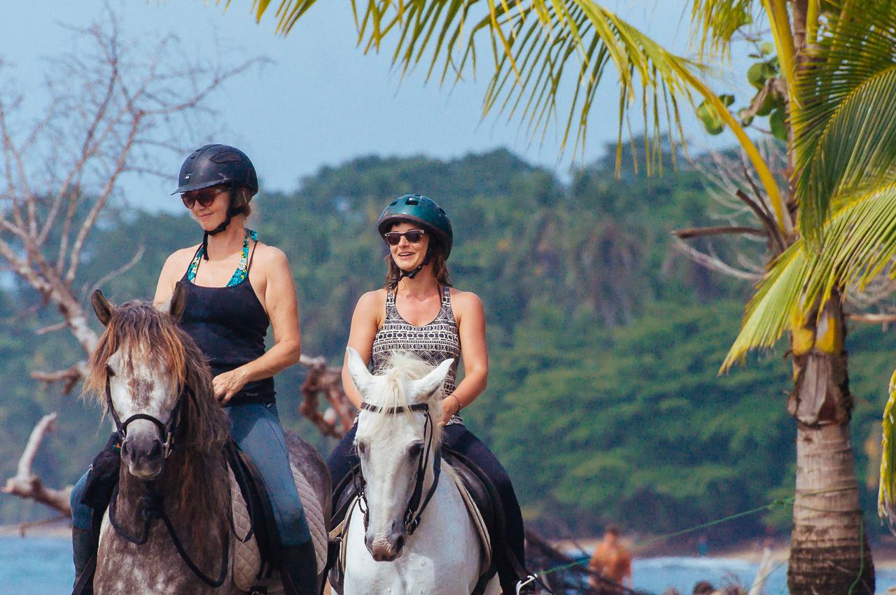 Trekking in Manzanillo, Costa Rica.
