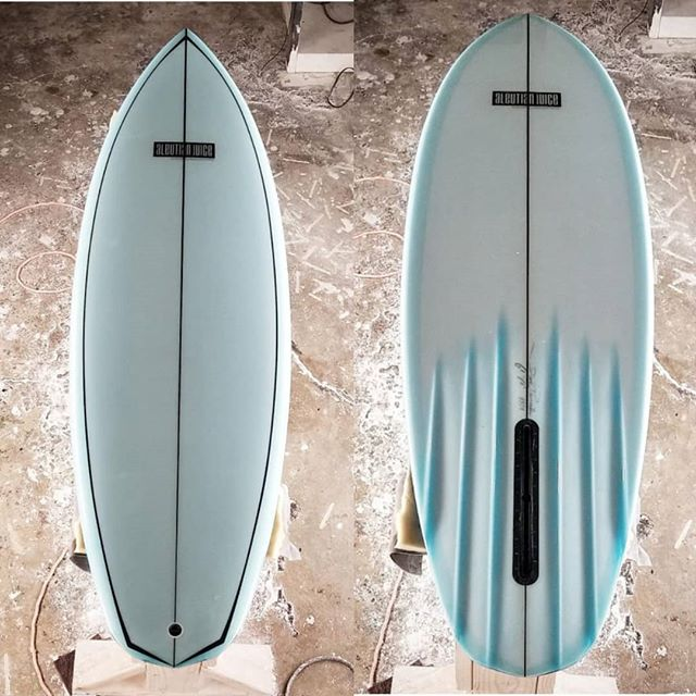 "Stock 6'1"" V6 single for @thecraft_fiberglass_supply in San Luis Obispo, CA. Glassed by @izzyduzit_ @coopdevillesurfboards  #keepingitreal805"