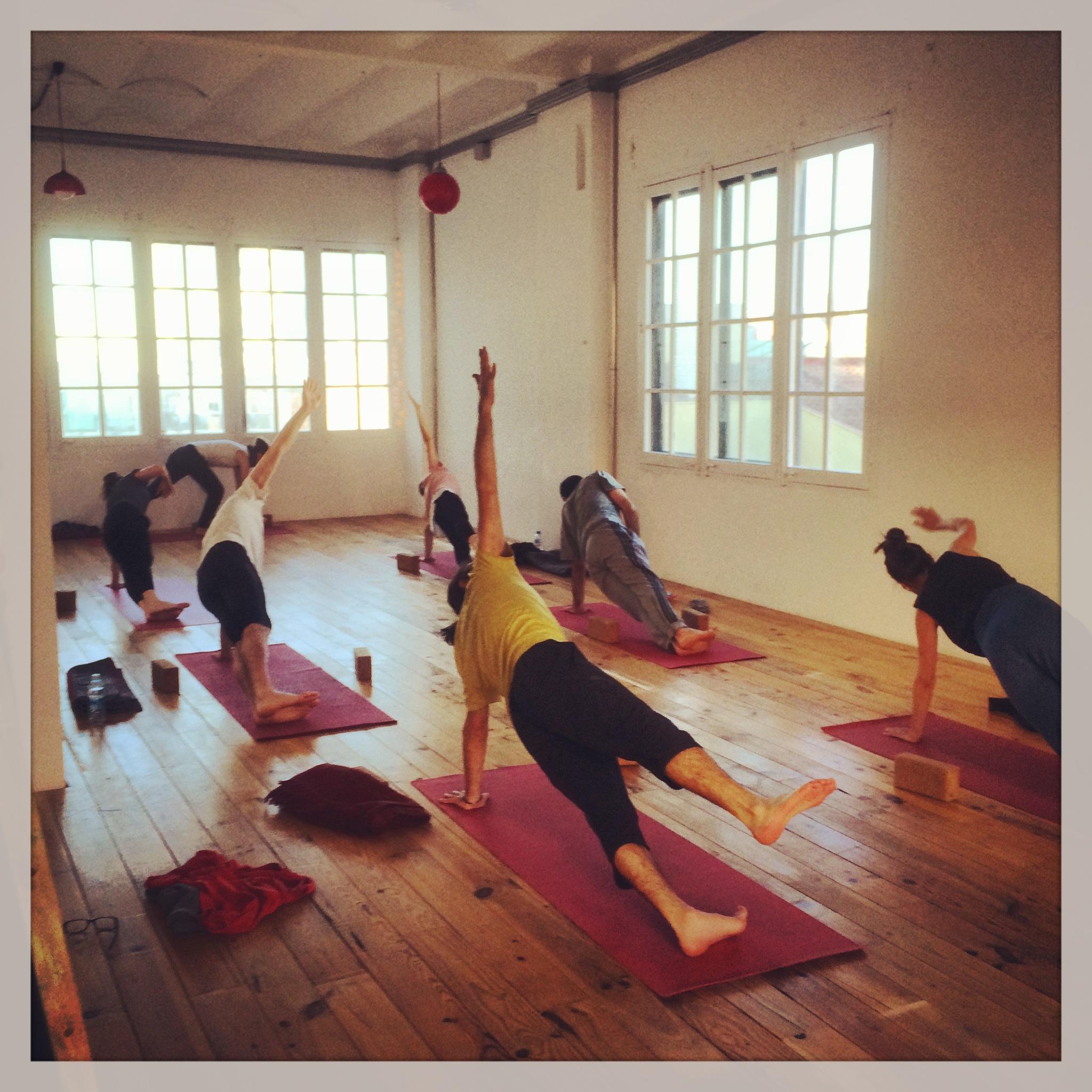 Yoga Hatha Jivamukti a las 8h