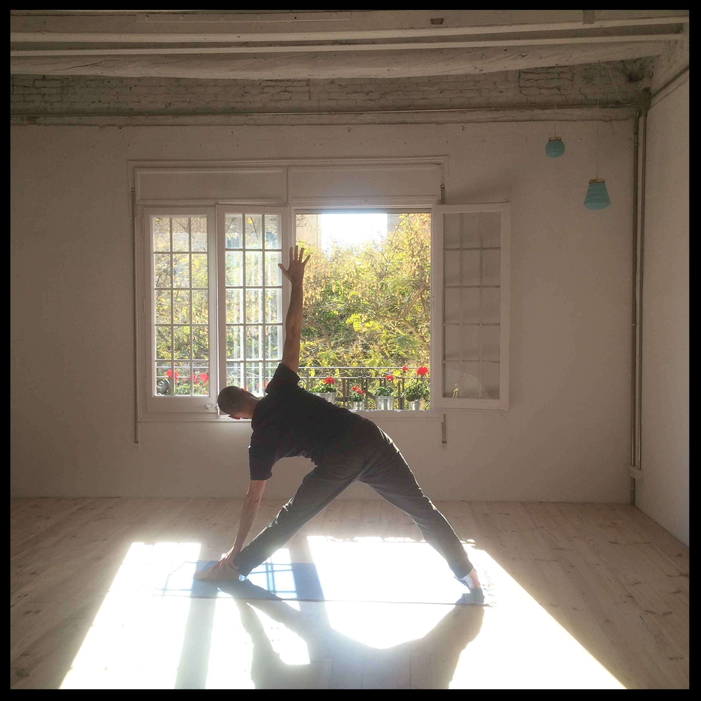 Hatha yoga en Espacio Norte por la mañana
