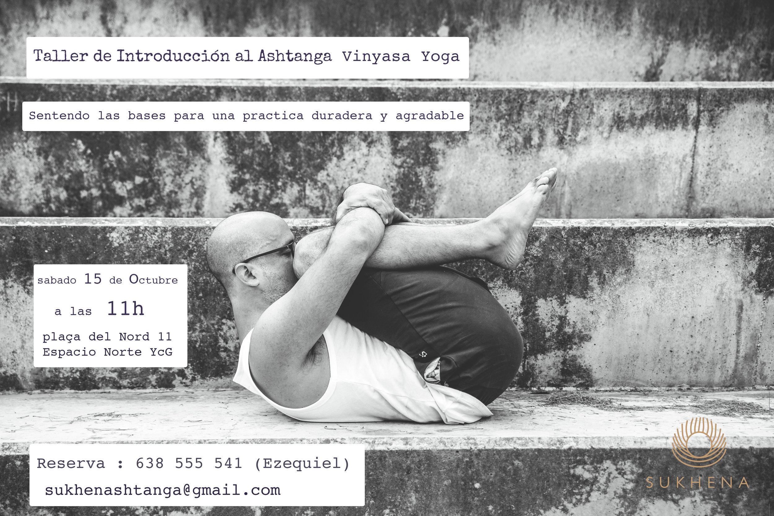 del domingo 16 a las 10h hasta fin de octubre martes jueves y domingo a las 10h serán puertas abiertas para poder descubrir este estilo de yoga.