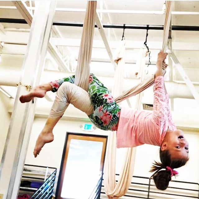 KIDS AERIAL YOGA! Sunday, May 5th, 10am. This class is for kids ages 6-12 years. They spend time exploring their balance, flexibility and breath using the aerial hammock. Kids are safely guided to do swings, flips or inversions based on their ability and willingness. Floor mats are provided for safety. This class is kid-approved and lots of fun! And...parents of kids in this class get to take a FREE mat yoga class in the adjoining room! So fun and zen for the entire family! What are you waiting for, sign up now and save your kiddo's hammock! Go to carmichaelyoga.com or find us on the MINDBODY app!  Cost $25 drop in. 5 & 10 class passes available at lower rate.☺️