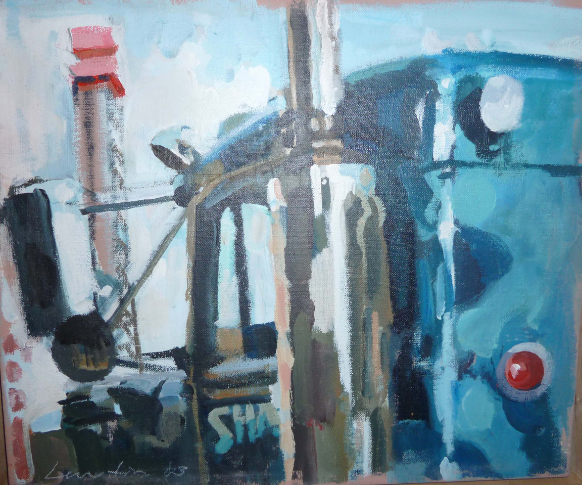 Blue Mack, Private Collection