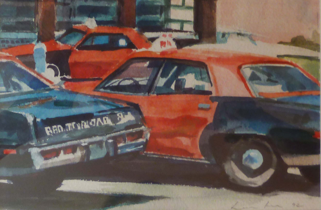 Red Cabs, Private Collection