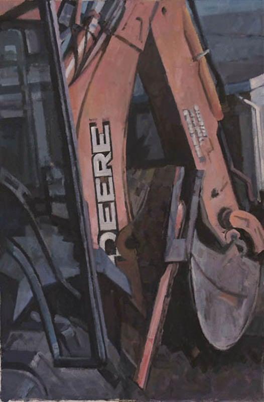 "Deere John, John Deere, acrylic on canvas,24 1/2"" x 36 3/4"""