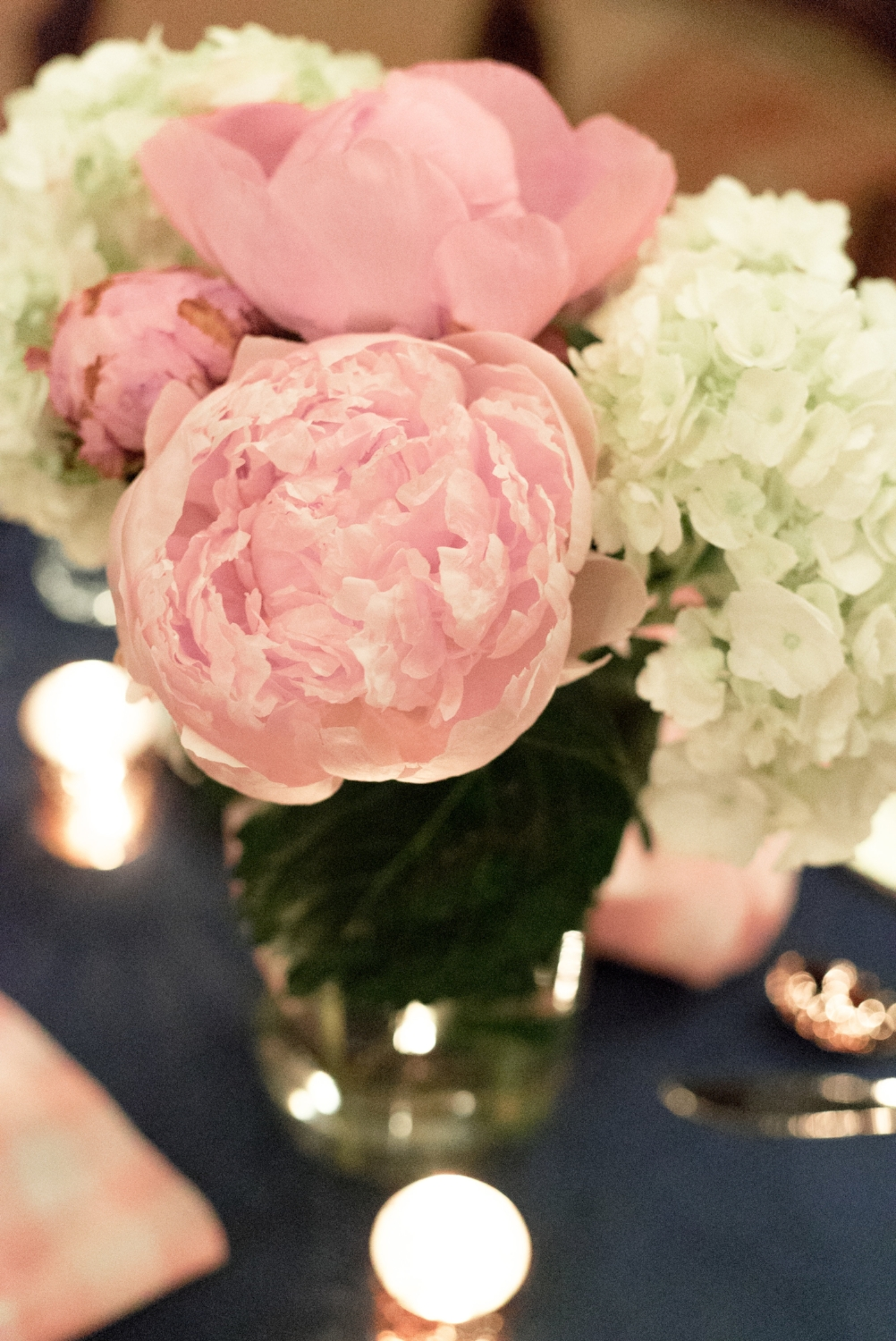 Peonies and Candlelight