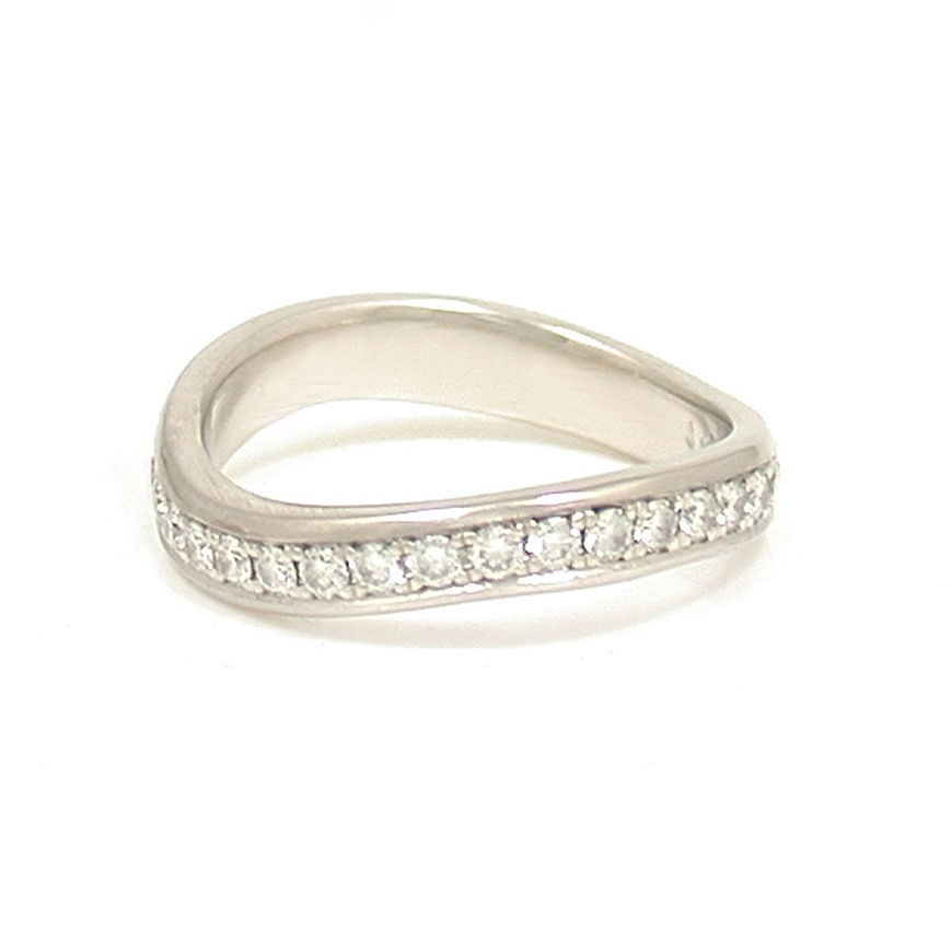 Pave Wave Ring - Full