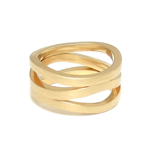Triple Wave Ring