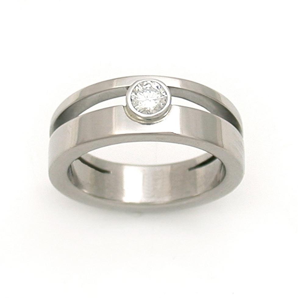 Asymmetric Split Ring