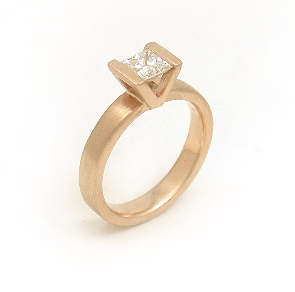 The Rebecca Ring in Yellow Gold