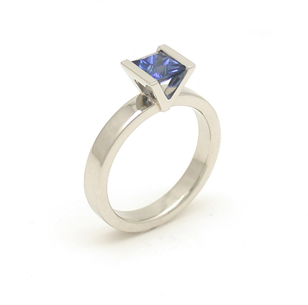 The Sapphire Rebecca Ring