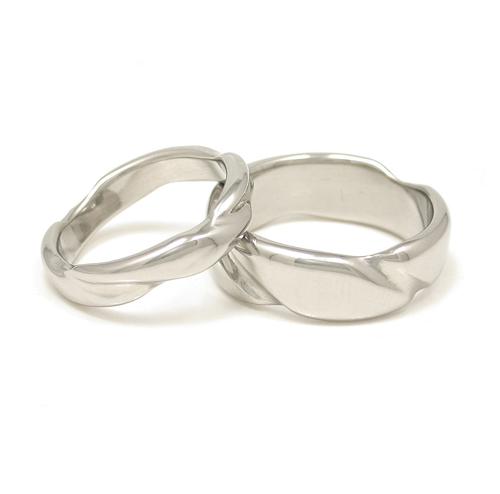 Twisted Wedding Bands