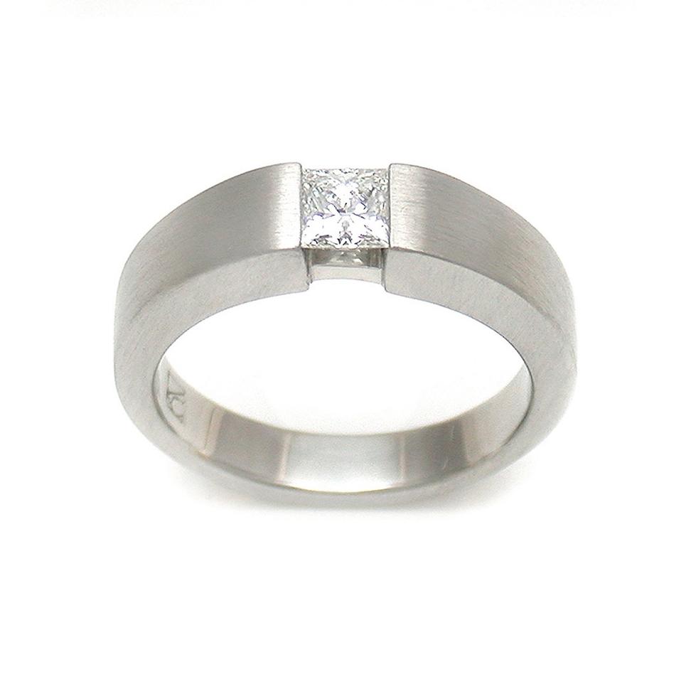 Platinum Princess Ring
