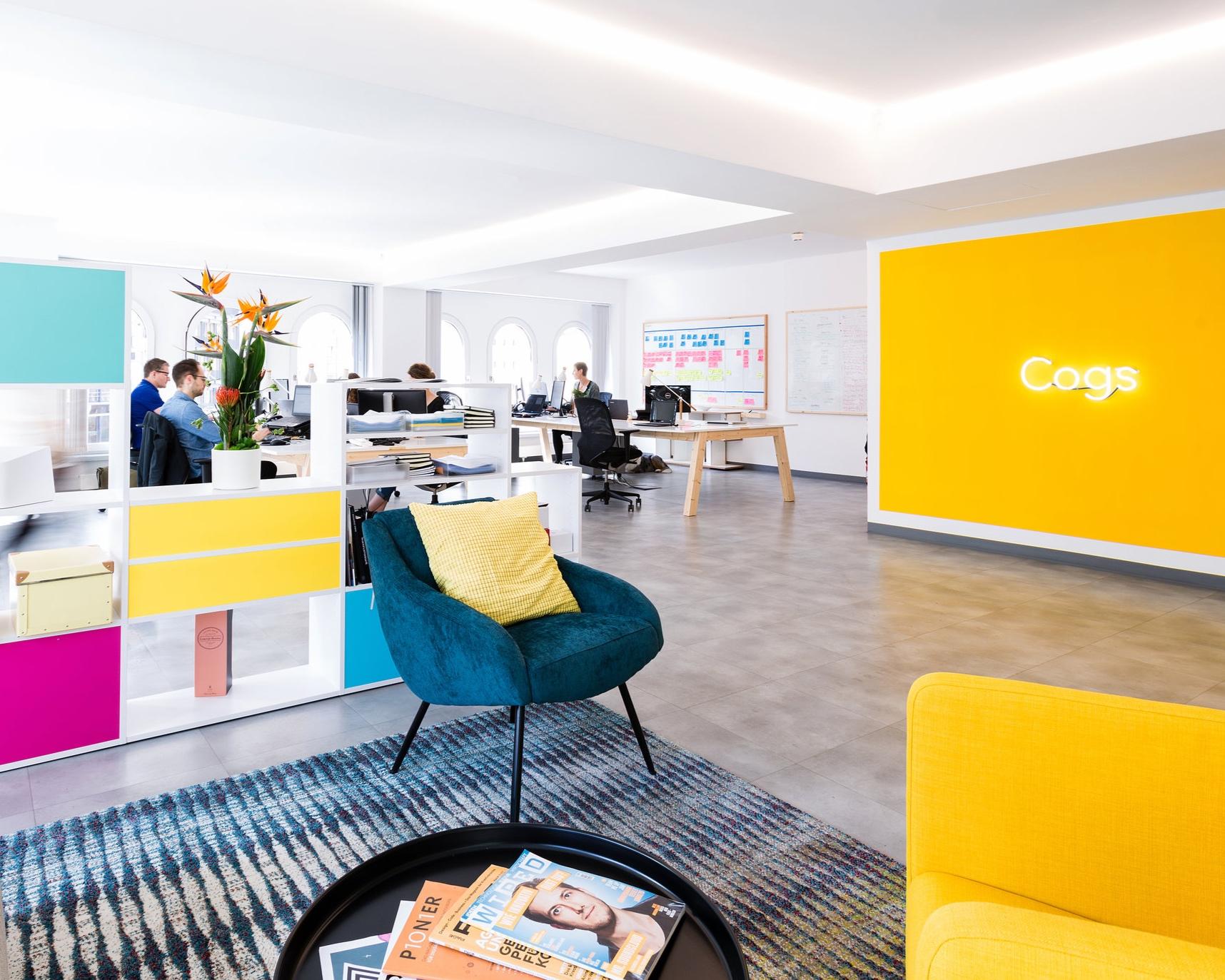 Cogs, Berlin   OFFICE DESIGN I OPEN SPACE