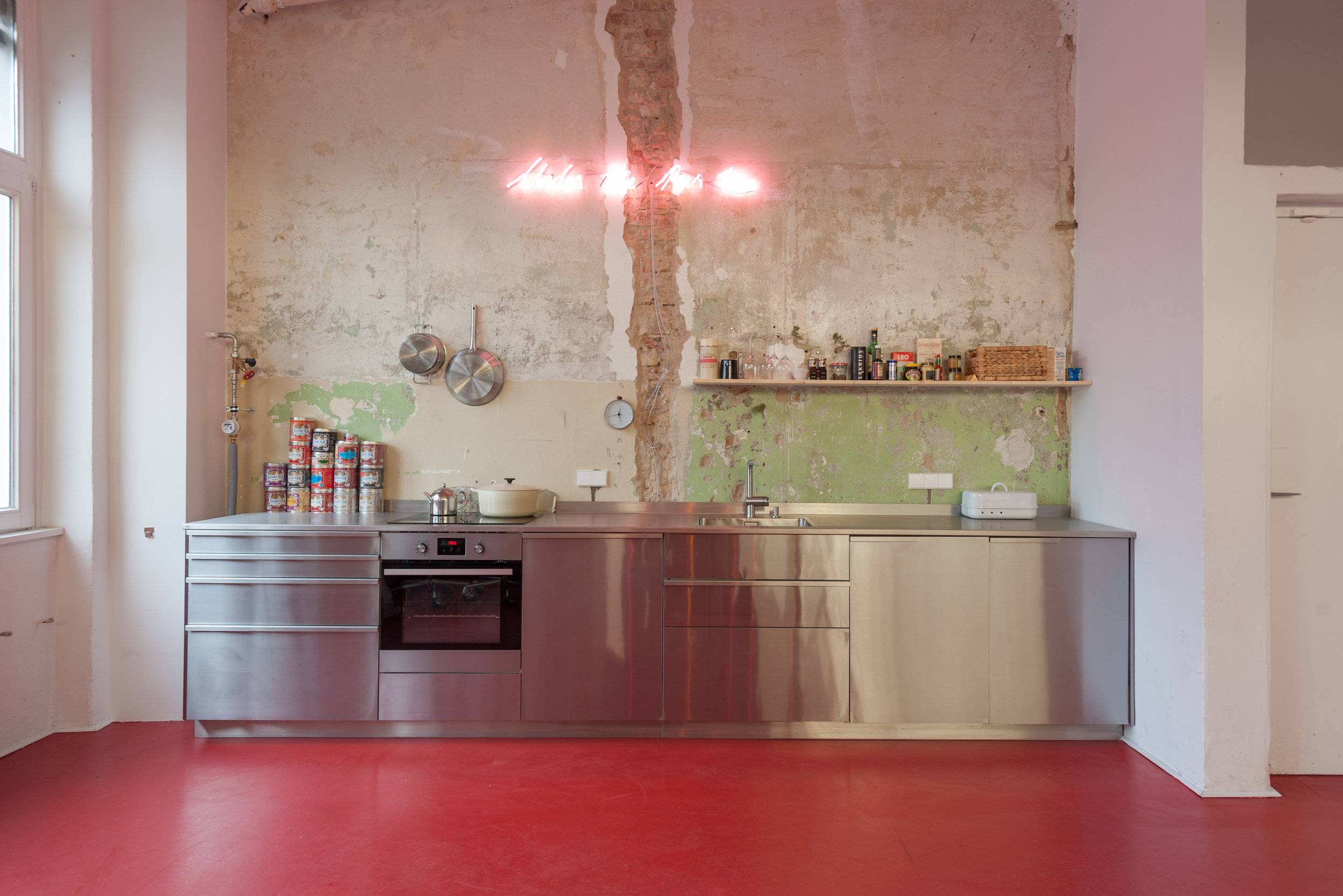 Douglas Gordon   STUDIO KITCHEN
