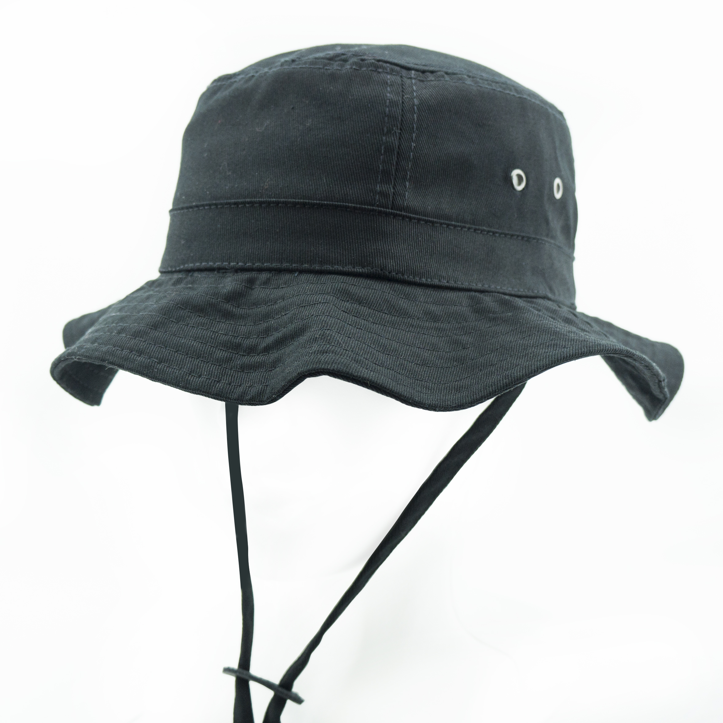 Boonie Black Bucket Hat-Side1.jpg