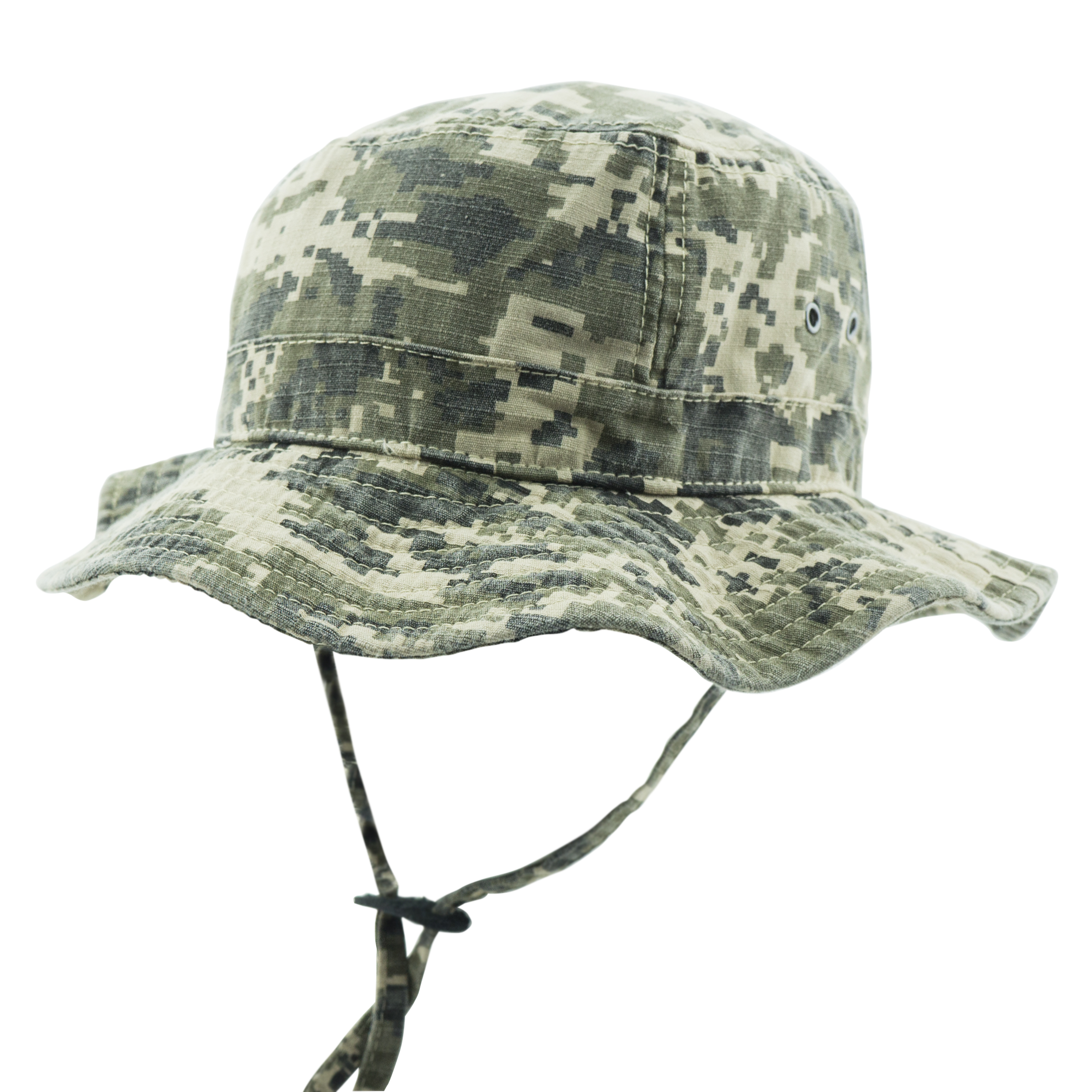 Digital Camo - Military Jungle Hat-Side1.jpg