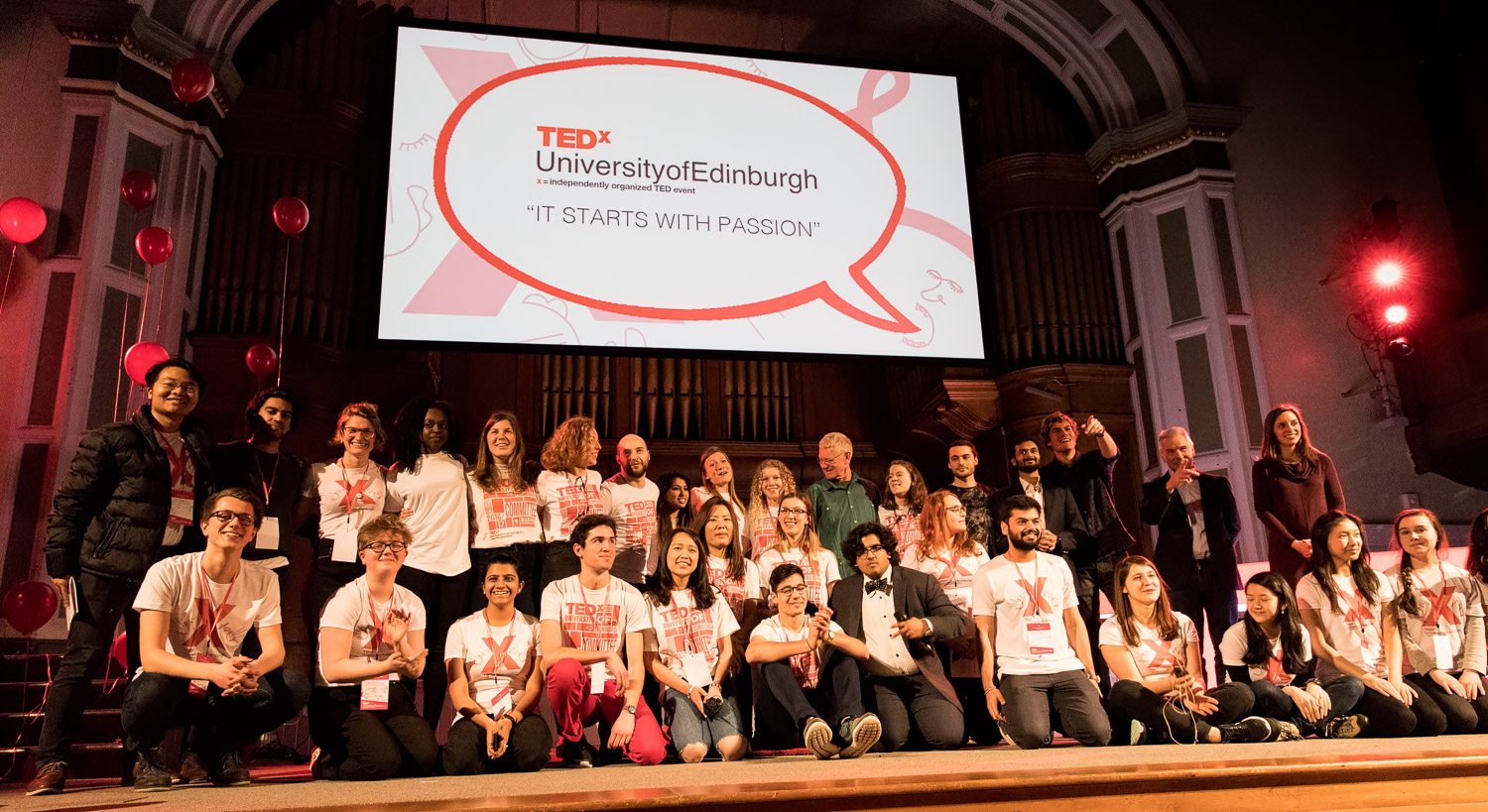 Well done ! The team of TEDxUofE 2017 !