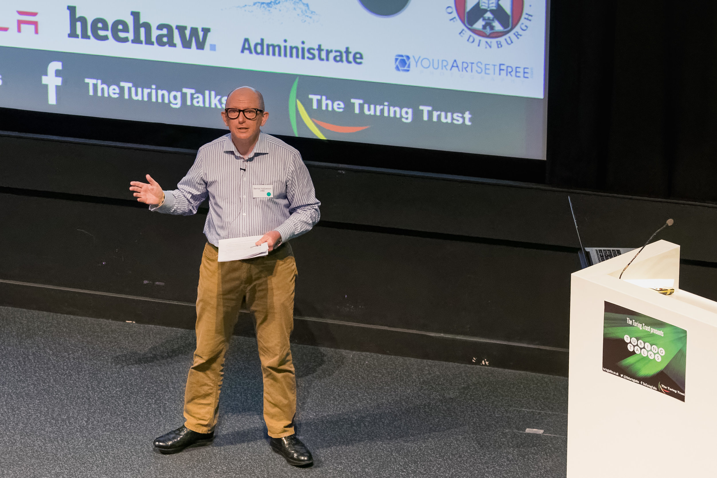 Turing Trust - There are some really great photos here. Thank you so much. You put an amazing amount of energy into getting the photos and to great effect. I am going to have great difficulty in picking the best for a highlights of the day on the website - you also managed to get a great mix and the ones of the networking and audience really help convey the buzz we had on the day. The use of What's App on the day certainly helped with getting it to trend on twitter which was fantastic.Once again, many thanks for all your time and expertise that went into getting us such a great record of the day - we really appreciate it and will ensure it is fully acknowledged on our website.Nicola Turing