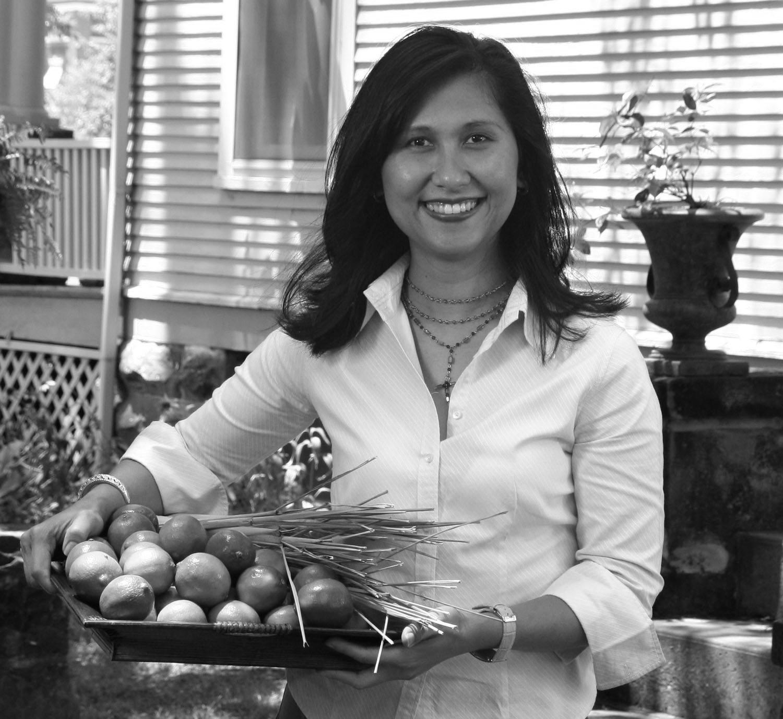 Naam Pruitt ,  author of Lemongrass & Limes