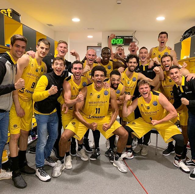 We fly high, no lie, you know this ballin 🎶 FINAL 4️⃣ ☝️ @basketballcl  #vamoscanarias #oneteam