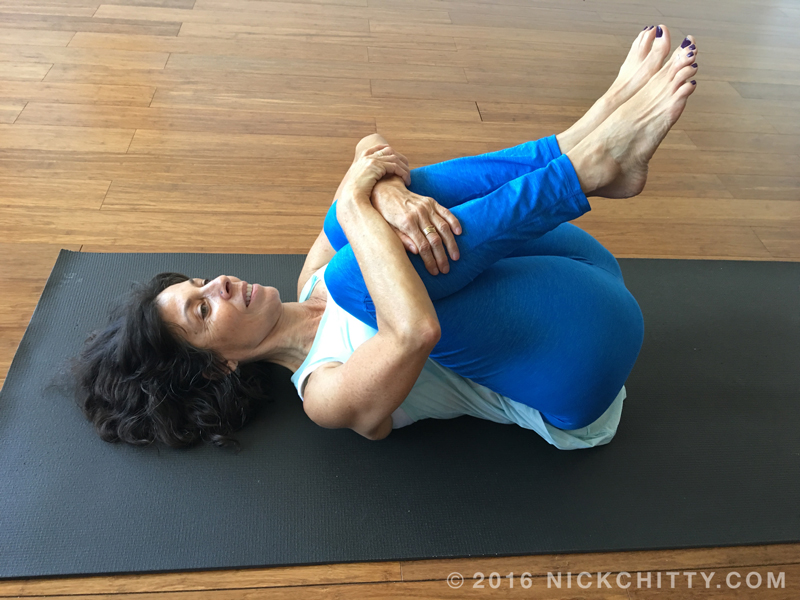 Trunk Stretch - Knees To Chest
