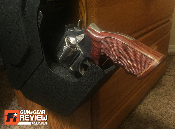 Note: If you are a wheel-gunner through and through, barrels longer than 4 inches will bottom out and not fully support the firearm in the foam pocket. This causes the gun to droop and the grip to protrude from the door.