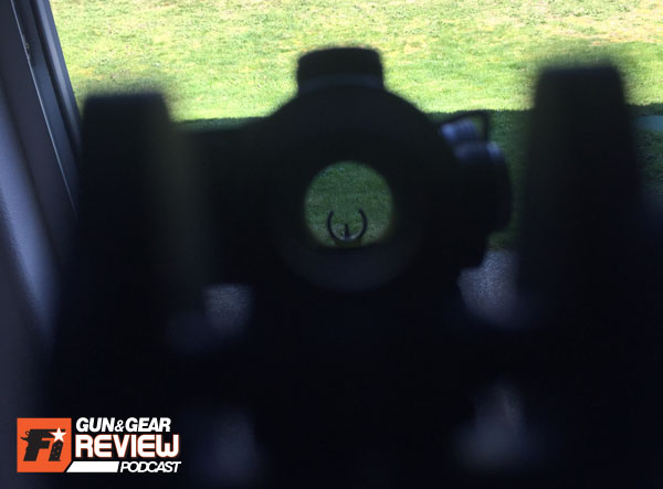 I prefer absolute co-witness so I can align the circles of my rear aperature, optic tube and crescented front sight hood, but sadly I will have to make do with this until I upgrade my optic to an Aimpoint.