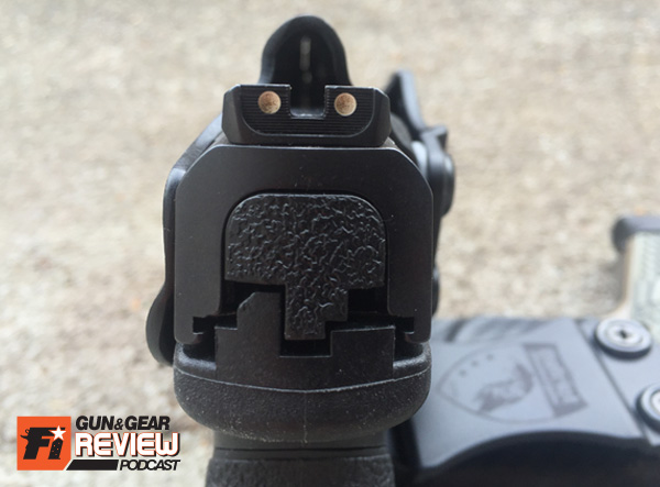 When ordering a custom Annihilation, you can also select the size of the front sight channel in case you have a taller suppressor height front sight.