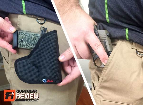 In the DeSantis Nemesis holster, the P938 practically melts into your pocket. Any minor imprinting would be taken as a wallet or bulky smart phone instead of a gun, even with the extended magazine.