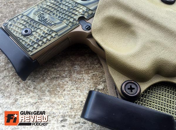 Trigger Guard Coverage: check! Finger clearance: check!