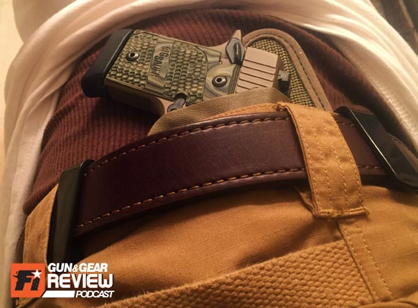 Sometimes belt loops on your favorite pair of pants often interfere with IWB holster clips when trying to position in the optimum carry position. The Mini's shorter clip to clip length helps resolve that.