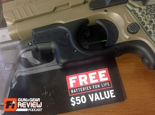Don't forget to take advantage of the free batteries for life promo. With a 4 hour battery life for red lasers, CT figures you will need a replacement every year with normal use.
