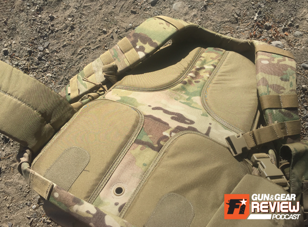 The padding and support structure designed in the back of the Rush 72 is well designed.