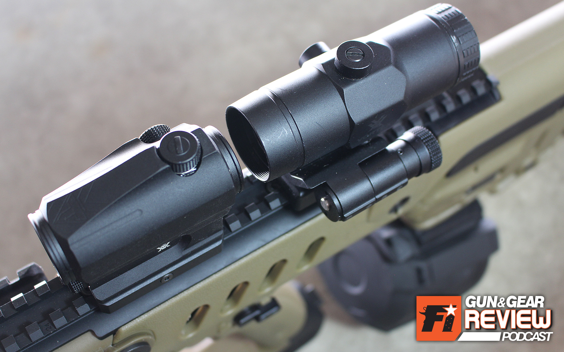 Red dots are ideal for carbines and other rifles, but having a boost of magnification is super beneficial and worth the extra ounces.