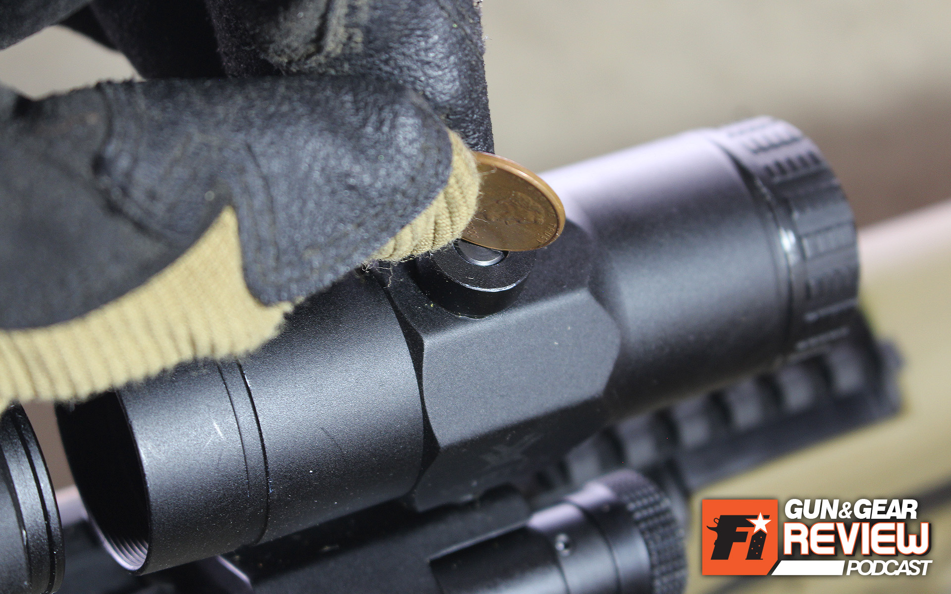 A flathead screwdriver, pocket knife, or a penny or dime can be used to zero the partnered red dot's reticle within the magnifier's view.
