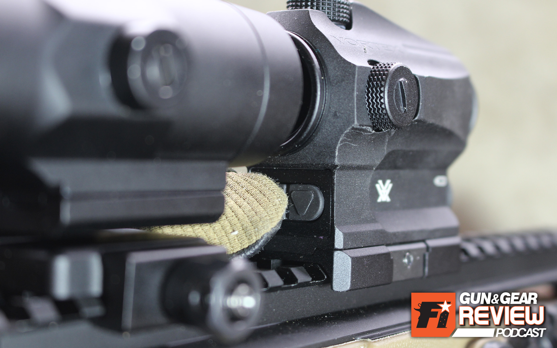 Ideally you should mount the magnifier as close to the red dot as possible, as long as is still freely actuates. For red dots with rear located controls like the SparcAR, this could be alittle tight for pressing the buttons with the magnifier in use. Still, I little to no issue even with gloved fingers.