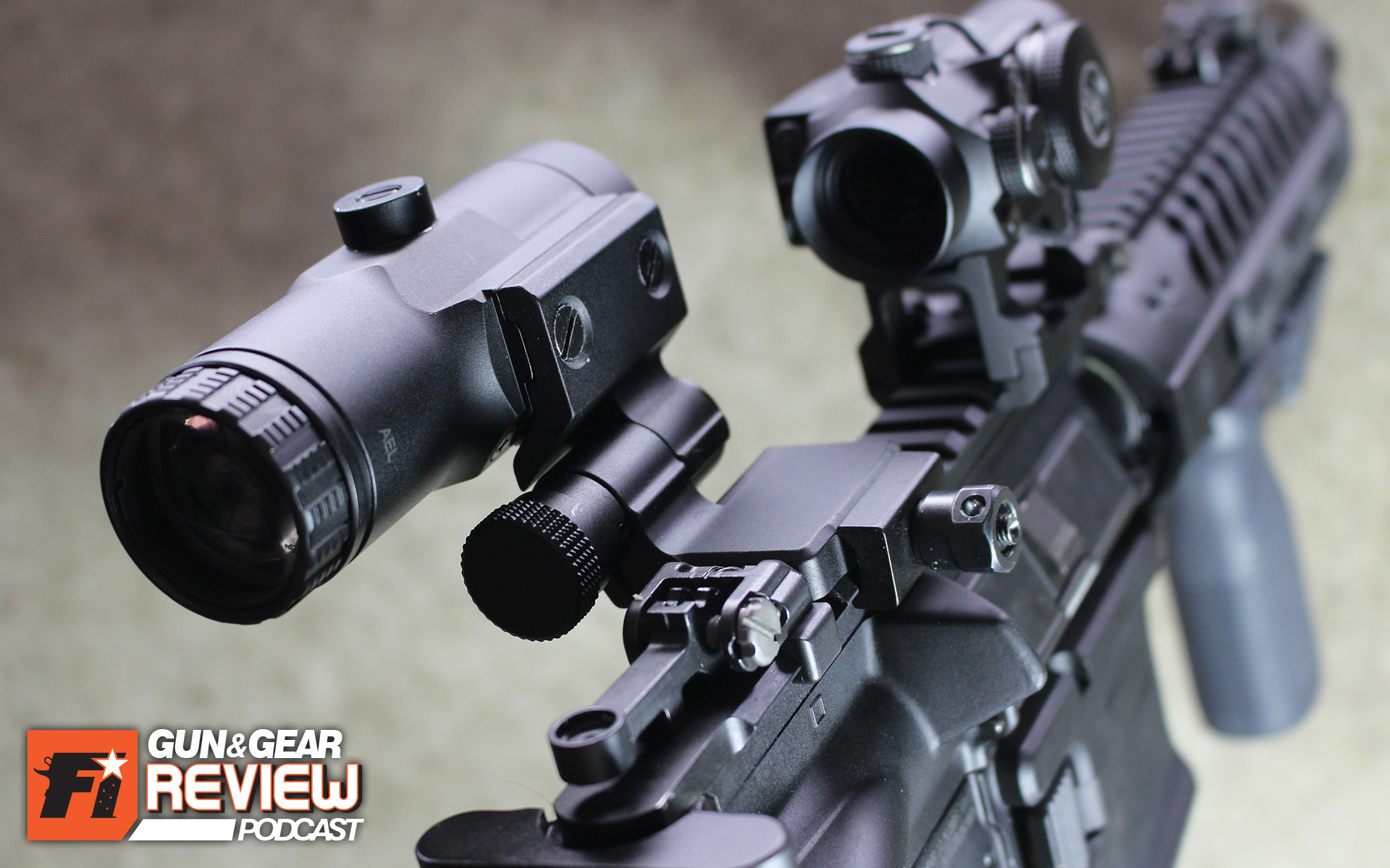 I especially enjoy running a magnifier and red dot combo on SBRs, as the lighter weight of the short barrel balances out the added weight on the rail. Stretching out the range is a nice plus too.