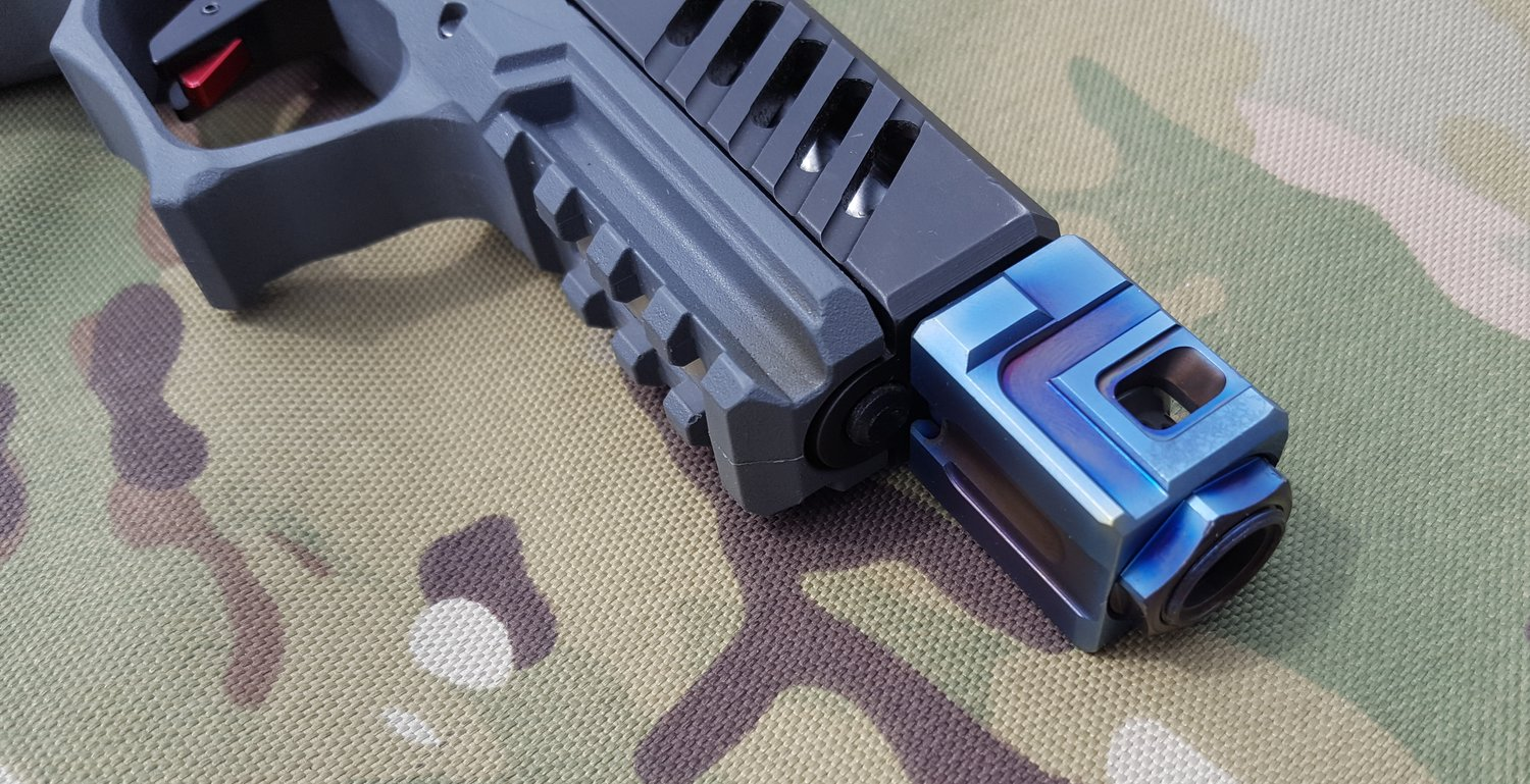 Official Qube Compensator — Firearms Insider Community