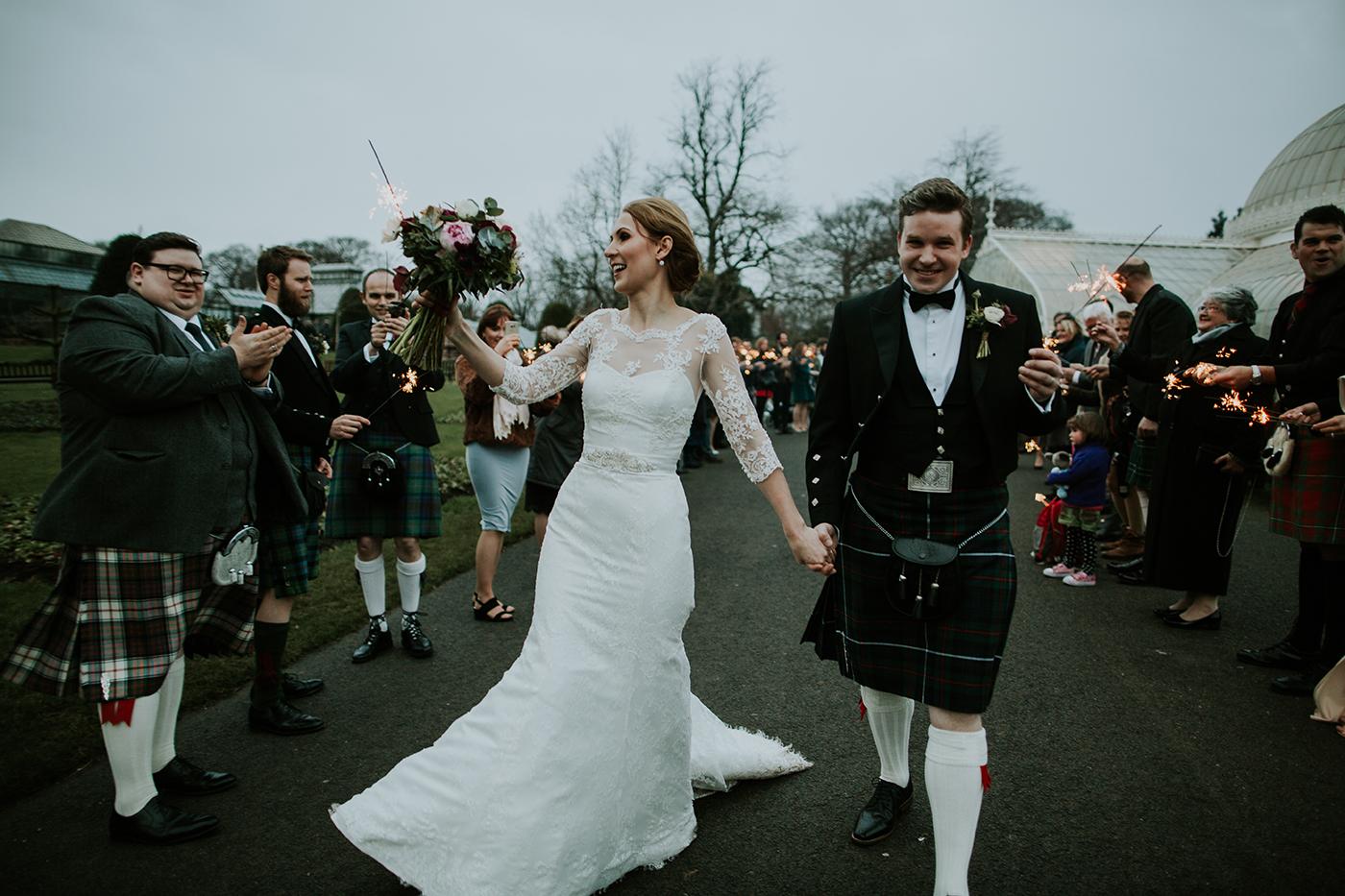 Kibble Palace Glasgow Wedding Photographer