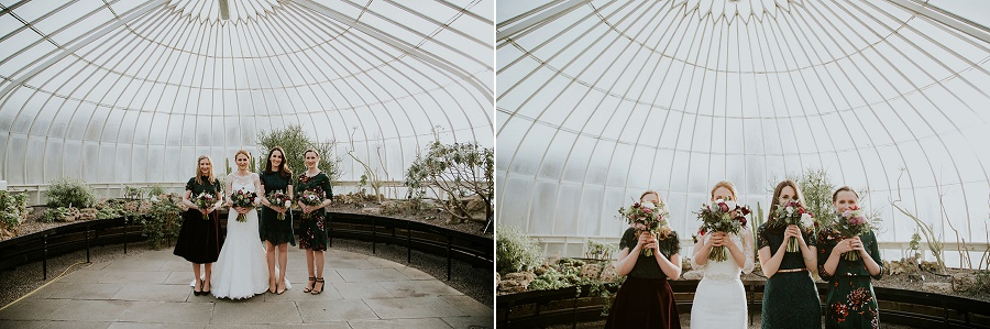Botanic Garden & Kibble Palace Glasgow Wedding Photographer