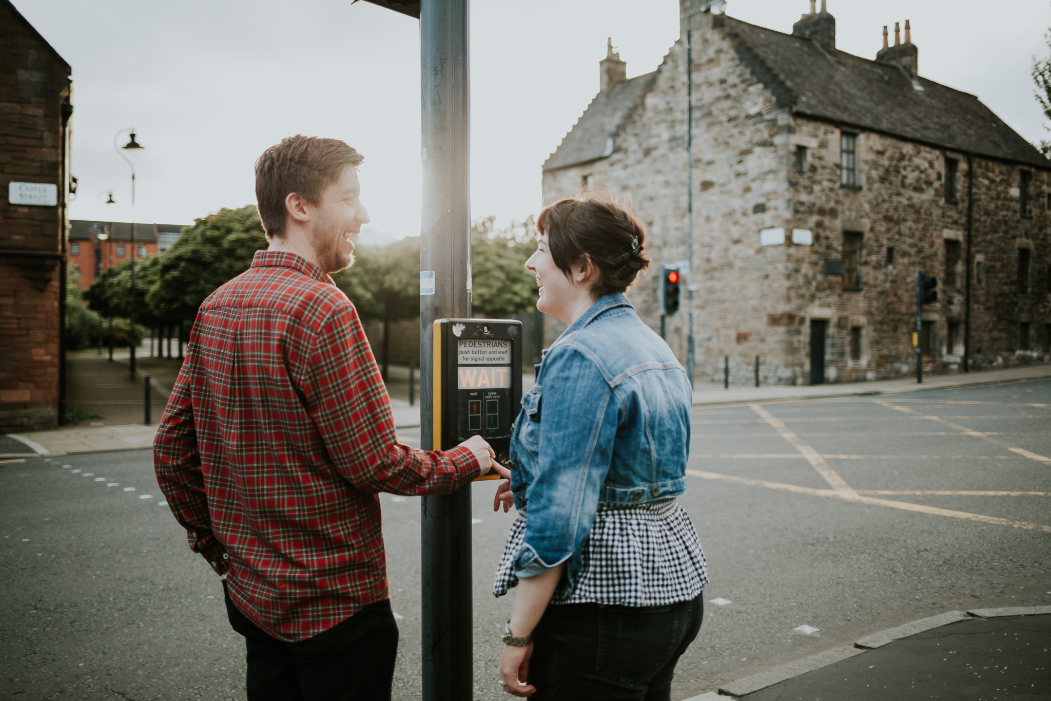 Glasgow wedding and engagement photographer | In the Name of Love Photography