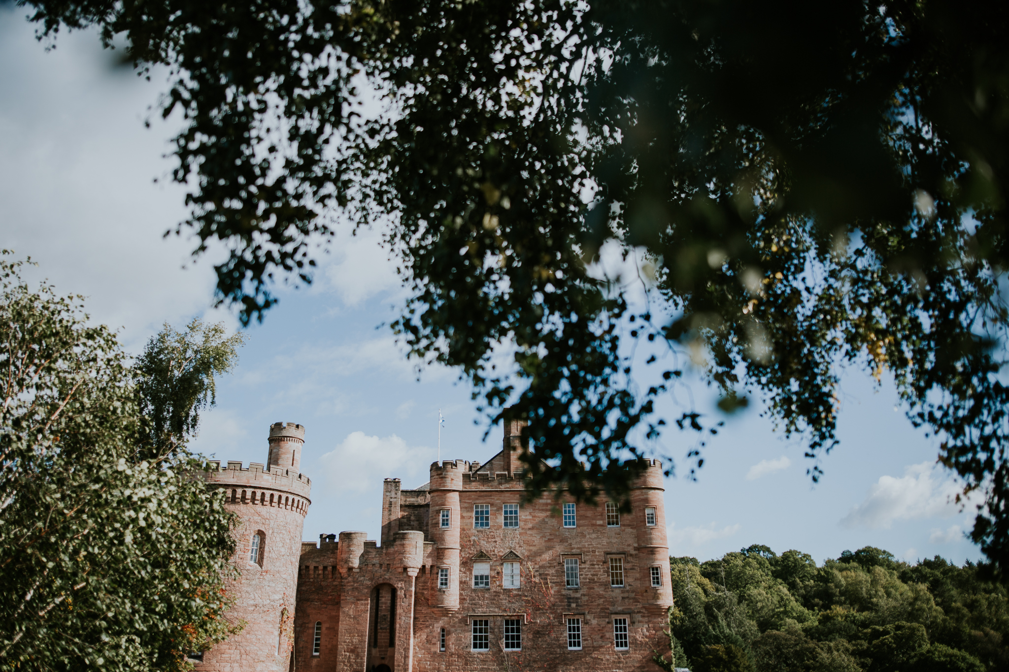 Dalhousie castle. Edinburgh and Lothians area.