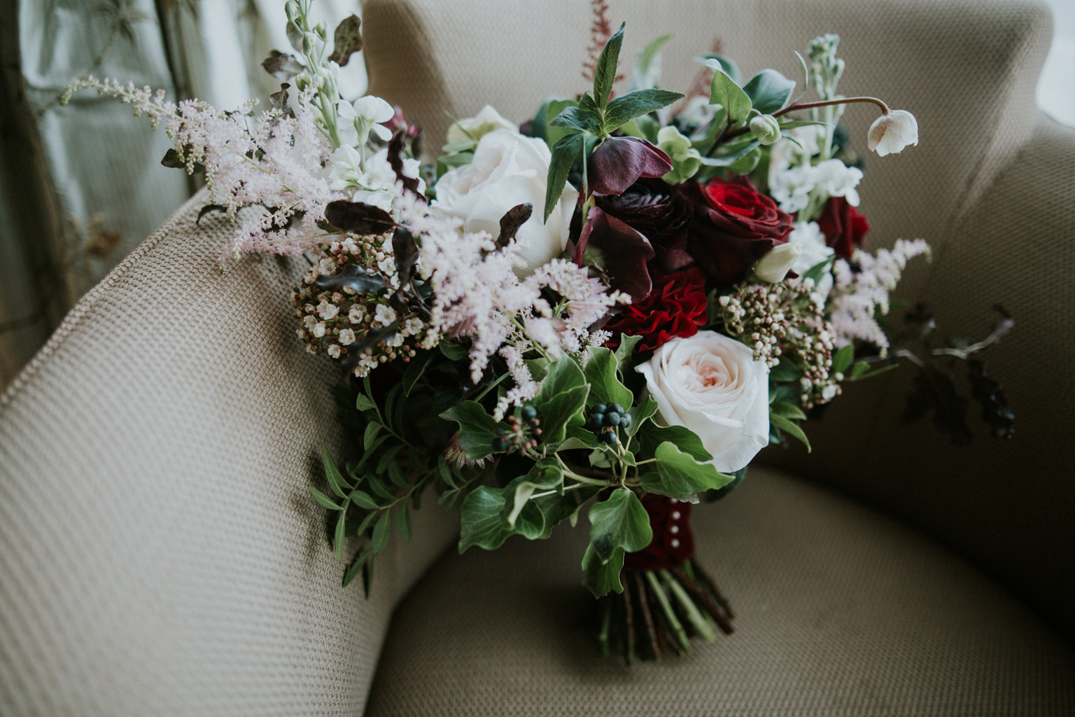 Gorgeous wedding blooms by Floral Menagerie
