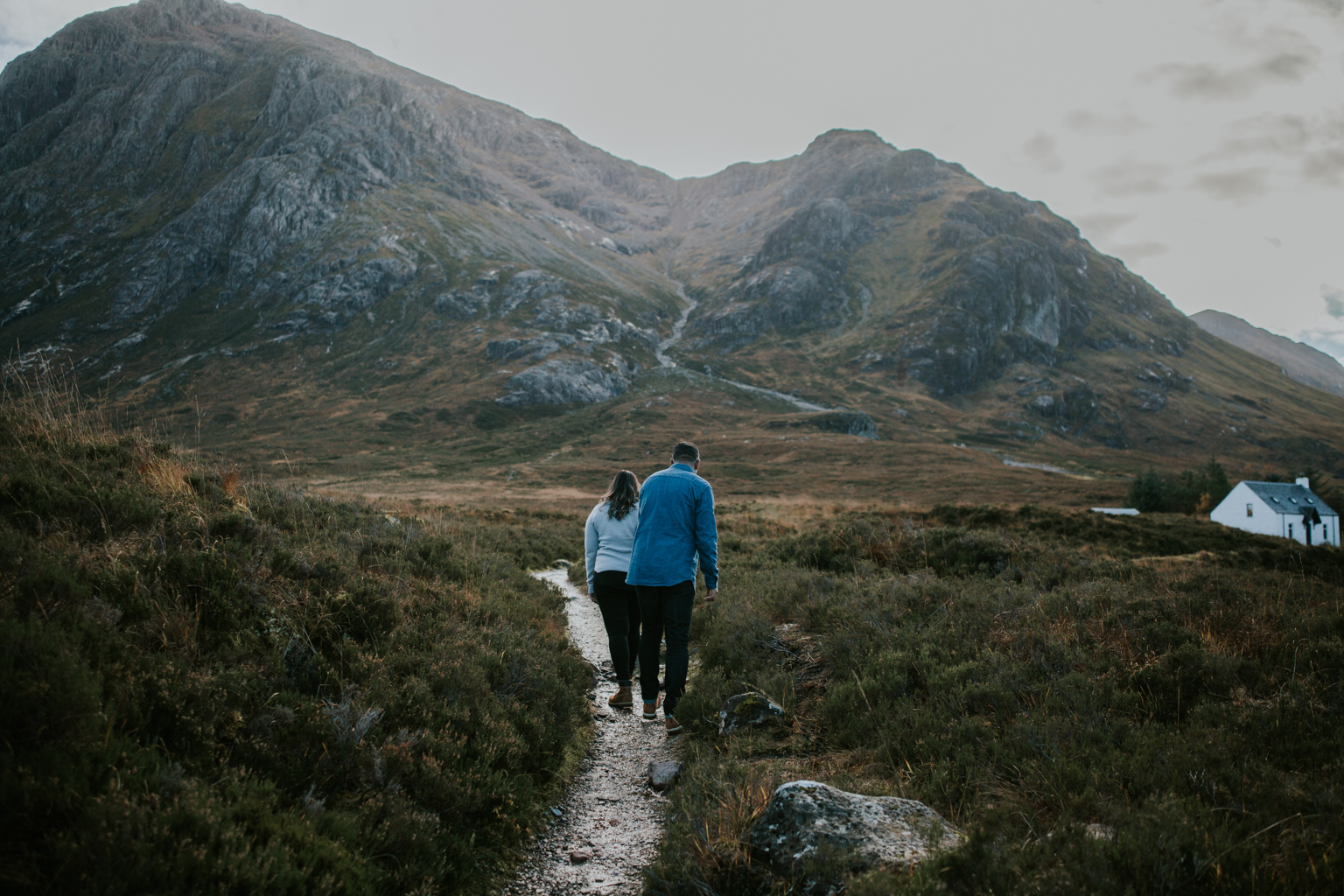 Alternative elopement photographer in Scotland
