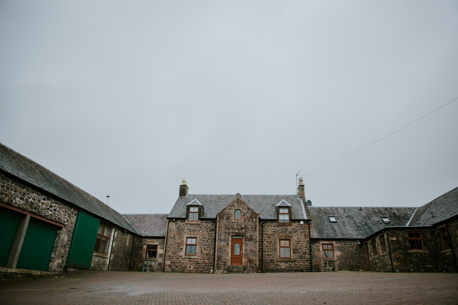 Harelaw farm wedding in Ayrshire