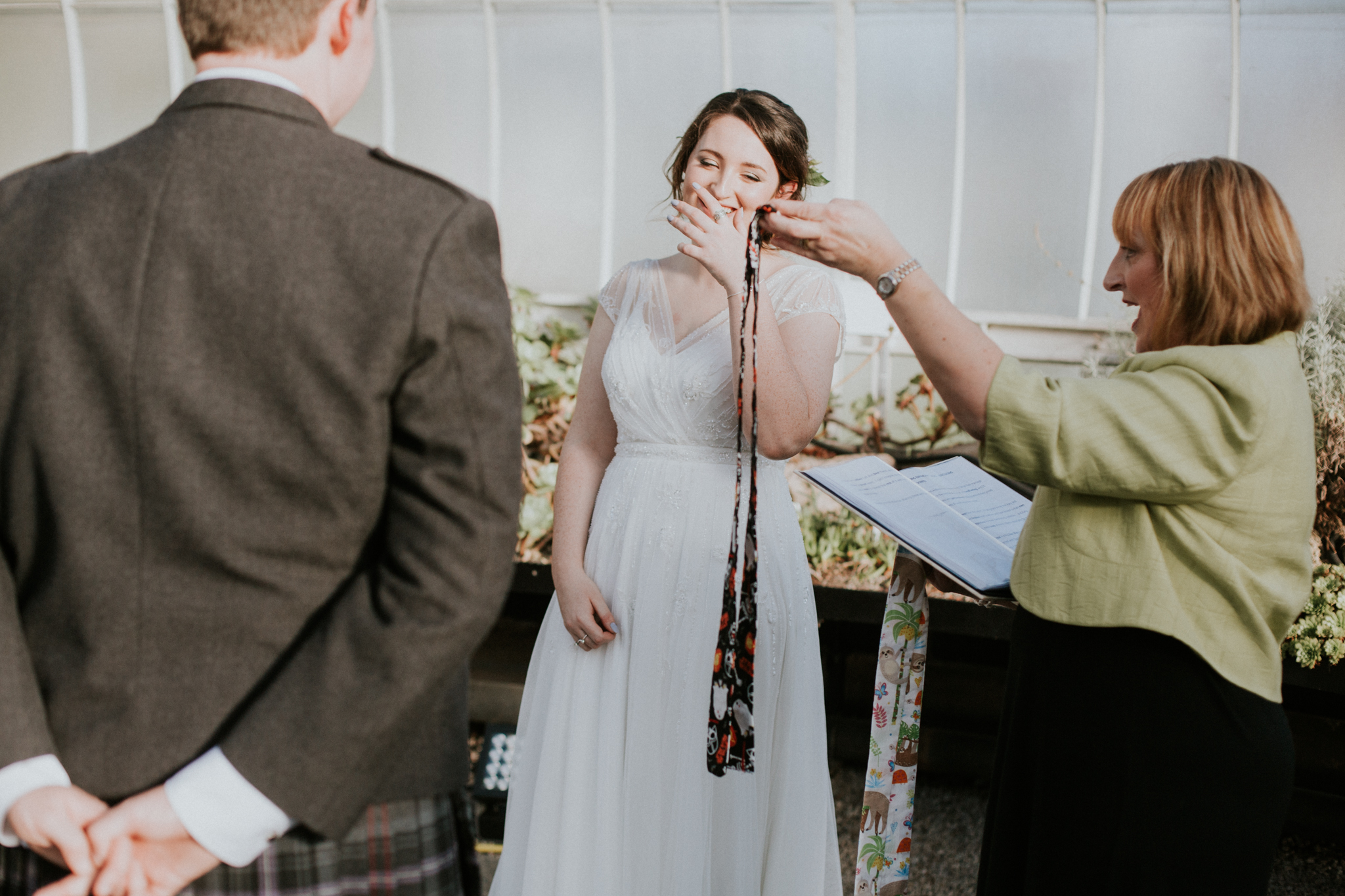 Glasgow Botanic Gardens Wedding Photos