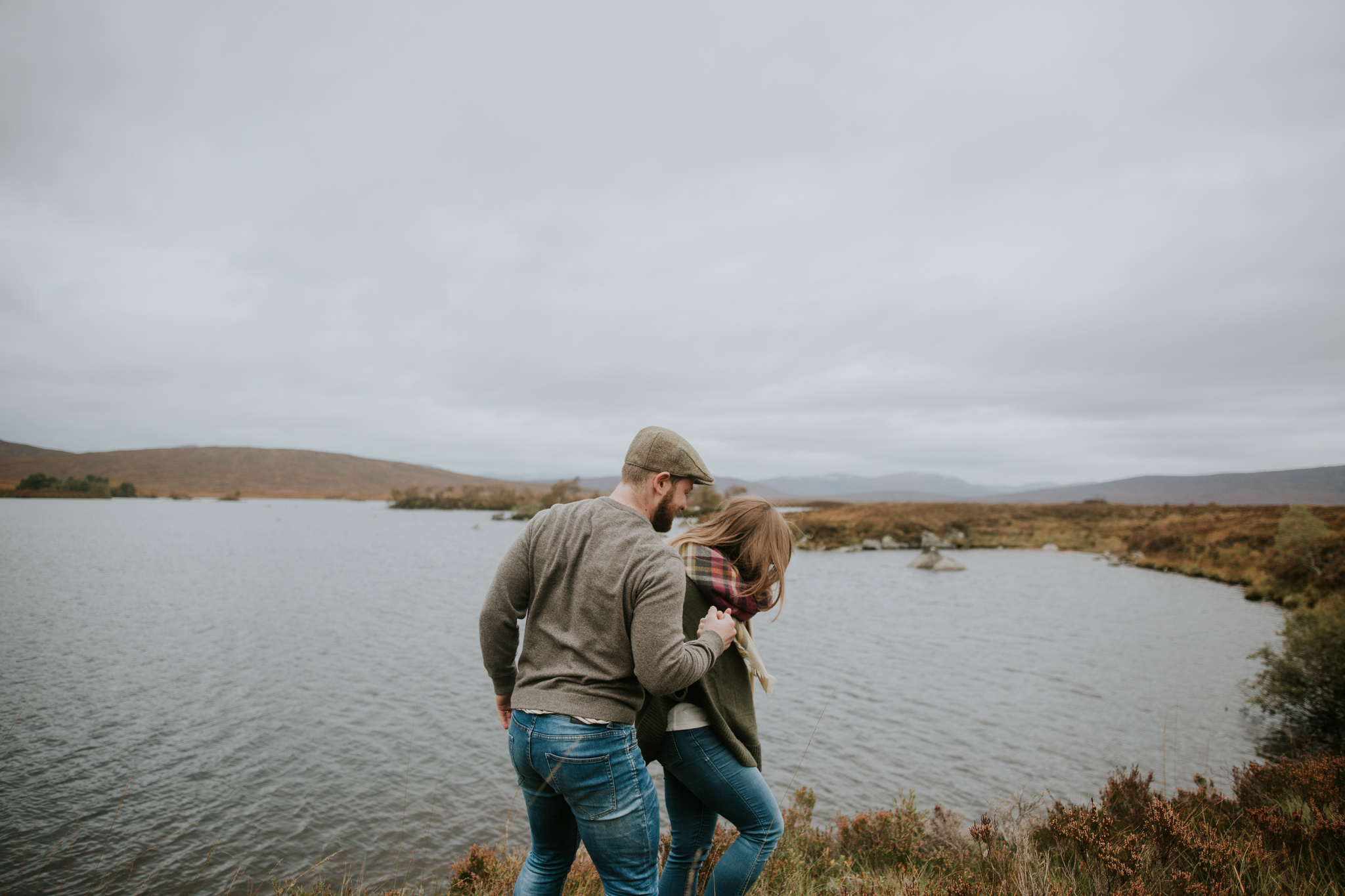 Artistic and moody Glencoe wedding and elopement photographer