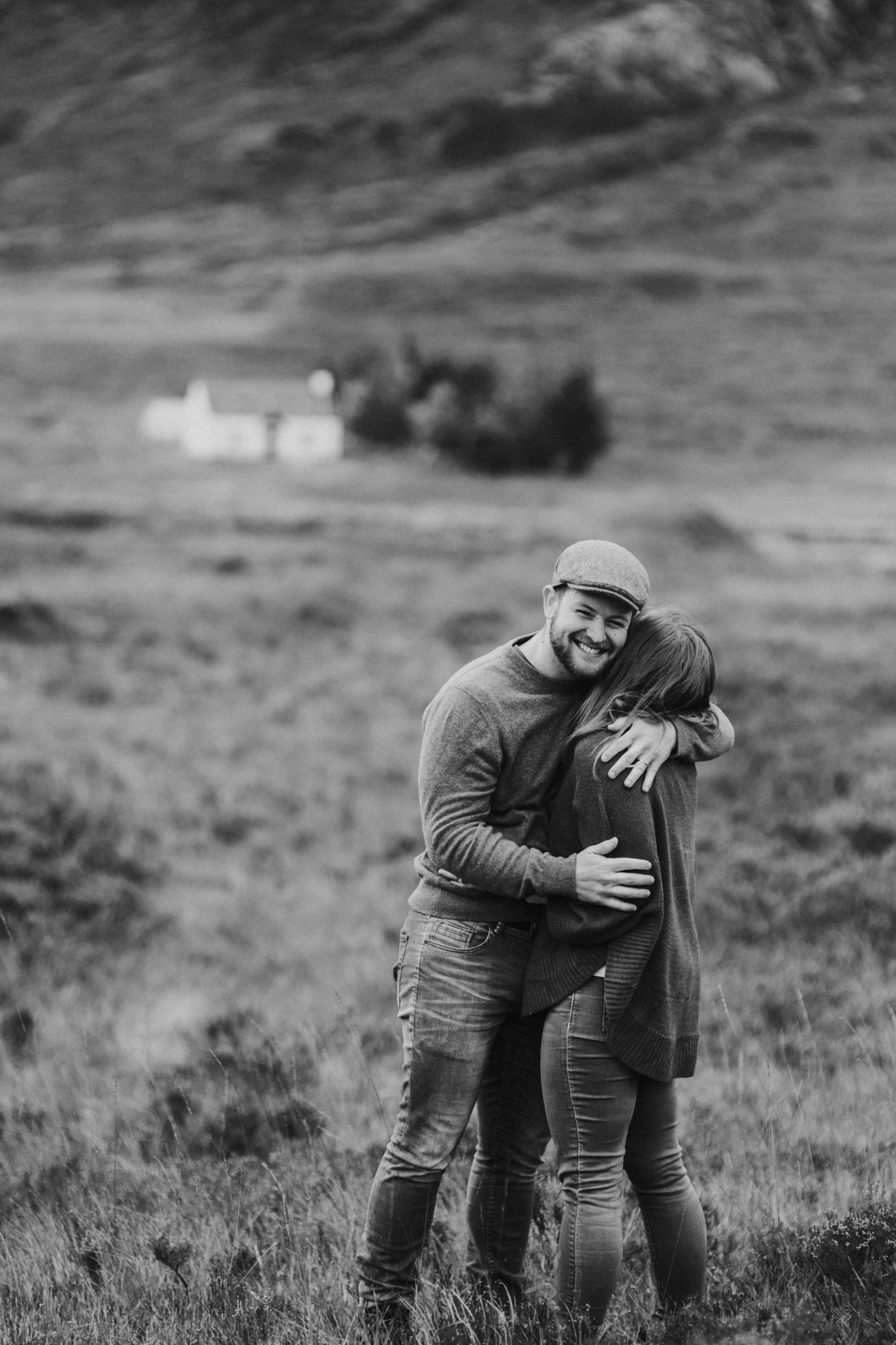 Relaxed and natural wedding and elopement photography in the Scottish Highlands, Glencoe