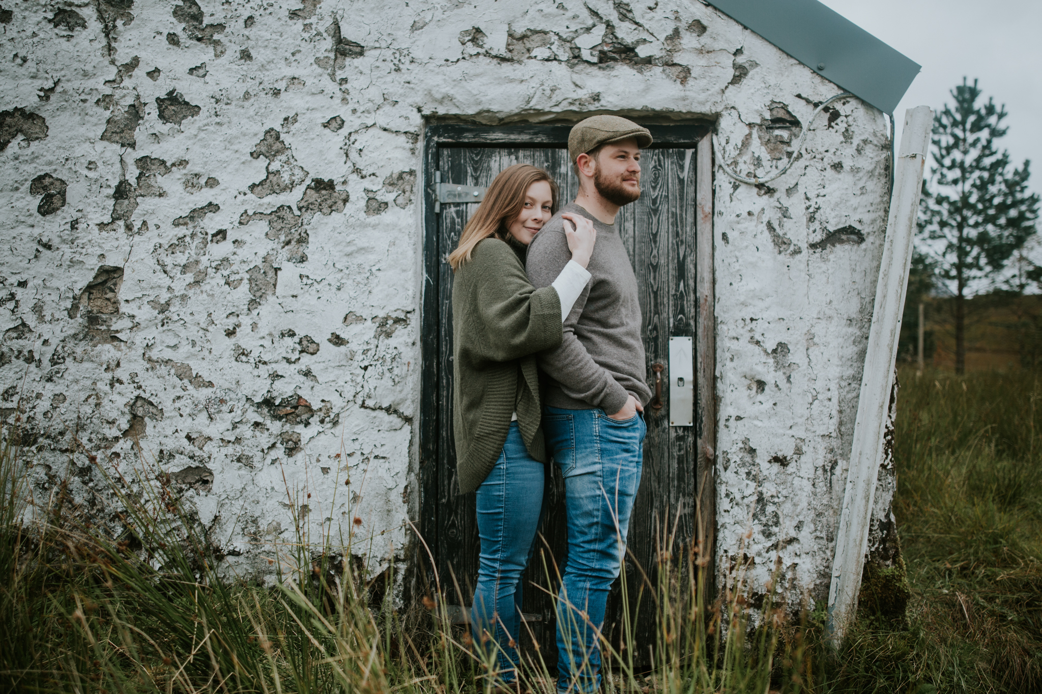 Cinematic style wedding and elopement photography in Scotland